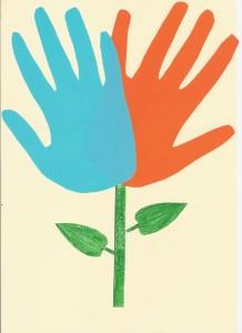 Flor manos